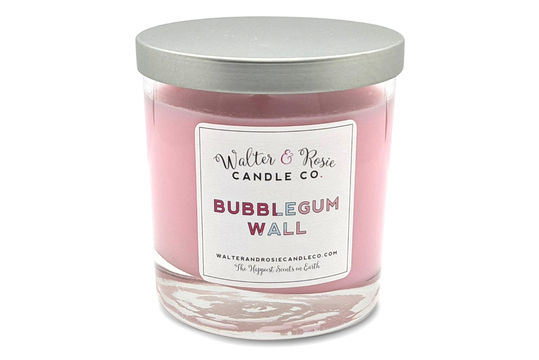 walter and rosie candle co, bubblegum wall, disney candles, walter and rosie