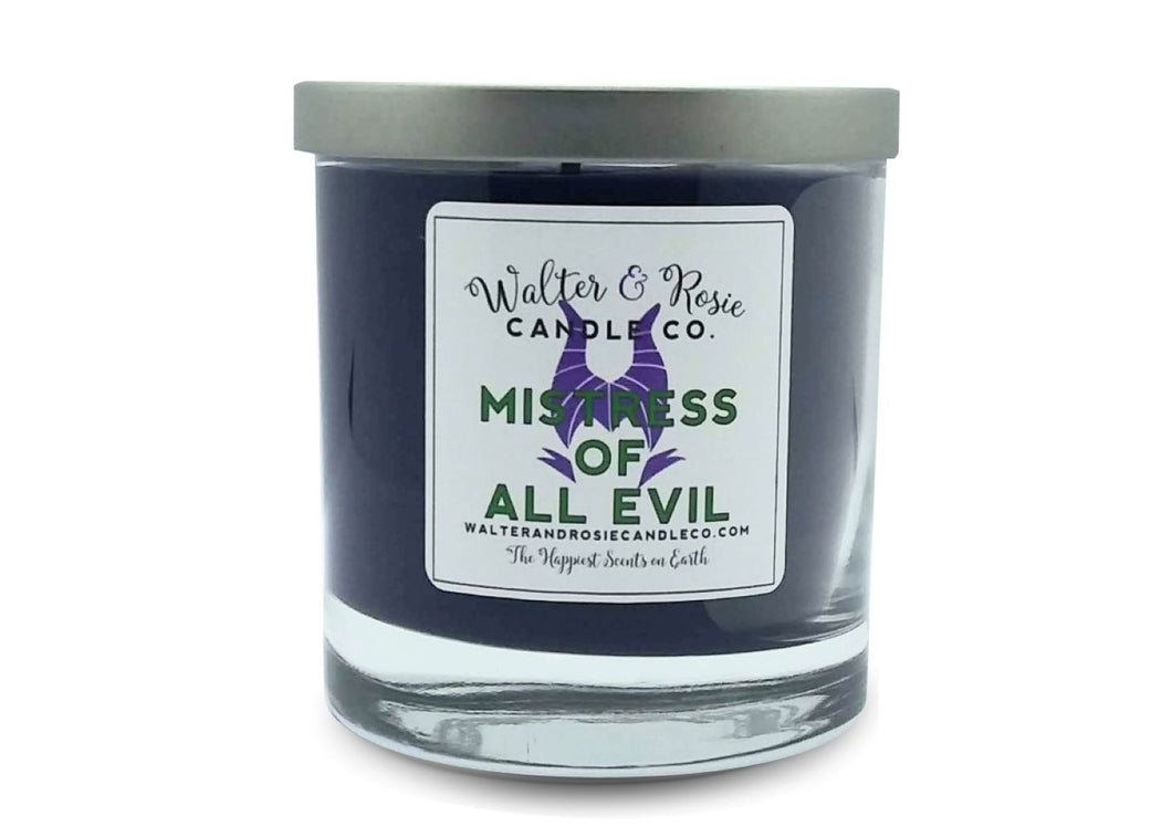 Mistress of all Evil Candle
