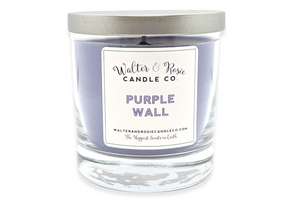 Purple Wall Candle