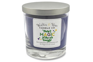 Walter and Rosie, Walter and Rosie candles, Mardi Gras Candle, King Cake Candle
