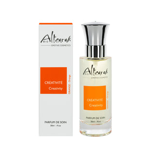 Orange Organic Perfume: Creativity