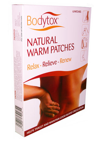 Bodytox Natural Detox Warm Patches