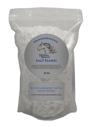 Magnesium Mg flakes for horses 20 lbs
