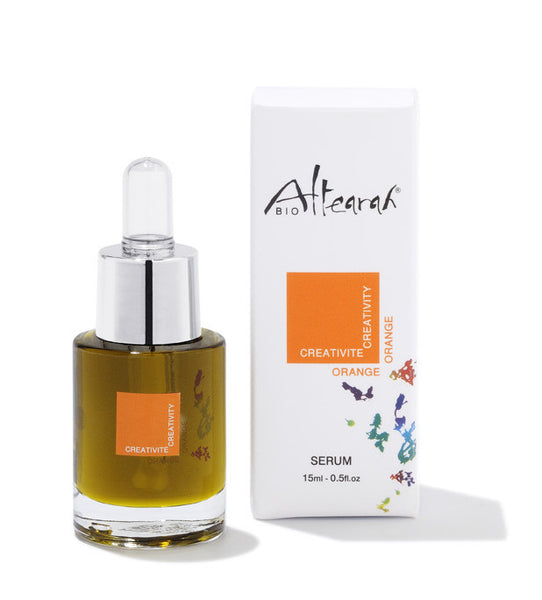 Orange Organic Serum: Creativity
