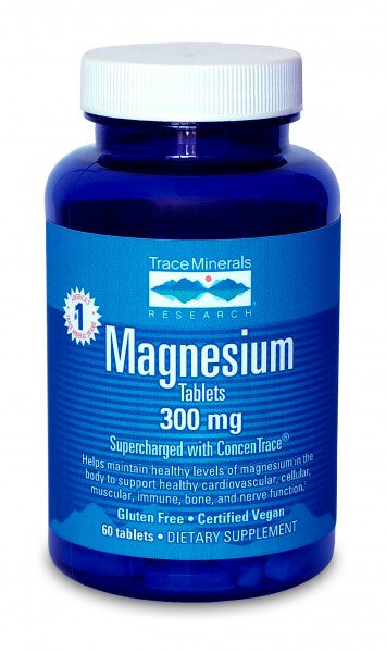 Trace Minerals Magnesium Tablets