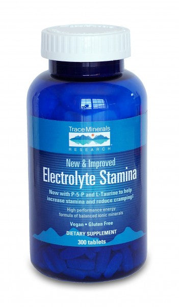 Electrolyte Stamina Tablets: 90 caps