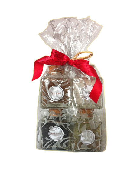 Gourmet Sea Salt Gift Set: 2.5 oz/each