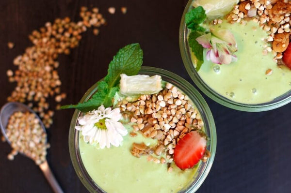 Zucchini, Kale and Baobab Smoothie