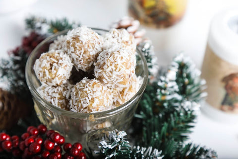 Baobab and Coconut Snowball Bites