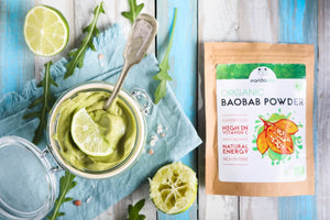 how to use baobab powder