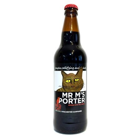 Mr M's Porter Red Cat Brewing PandaVita eebria