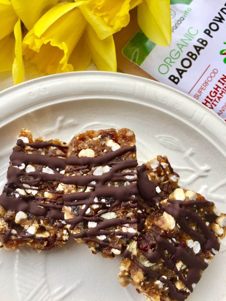 Mini Baobab Energy Bars