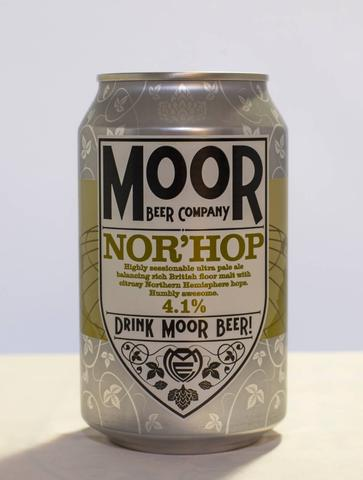 Nor' Hop Moor Beer Vegan PandaVita