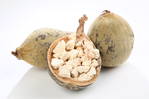 opened baobab fruit