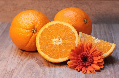 Vitamin C orange fruit