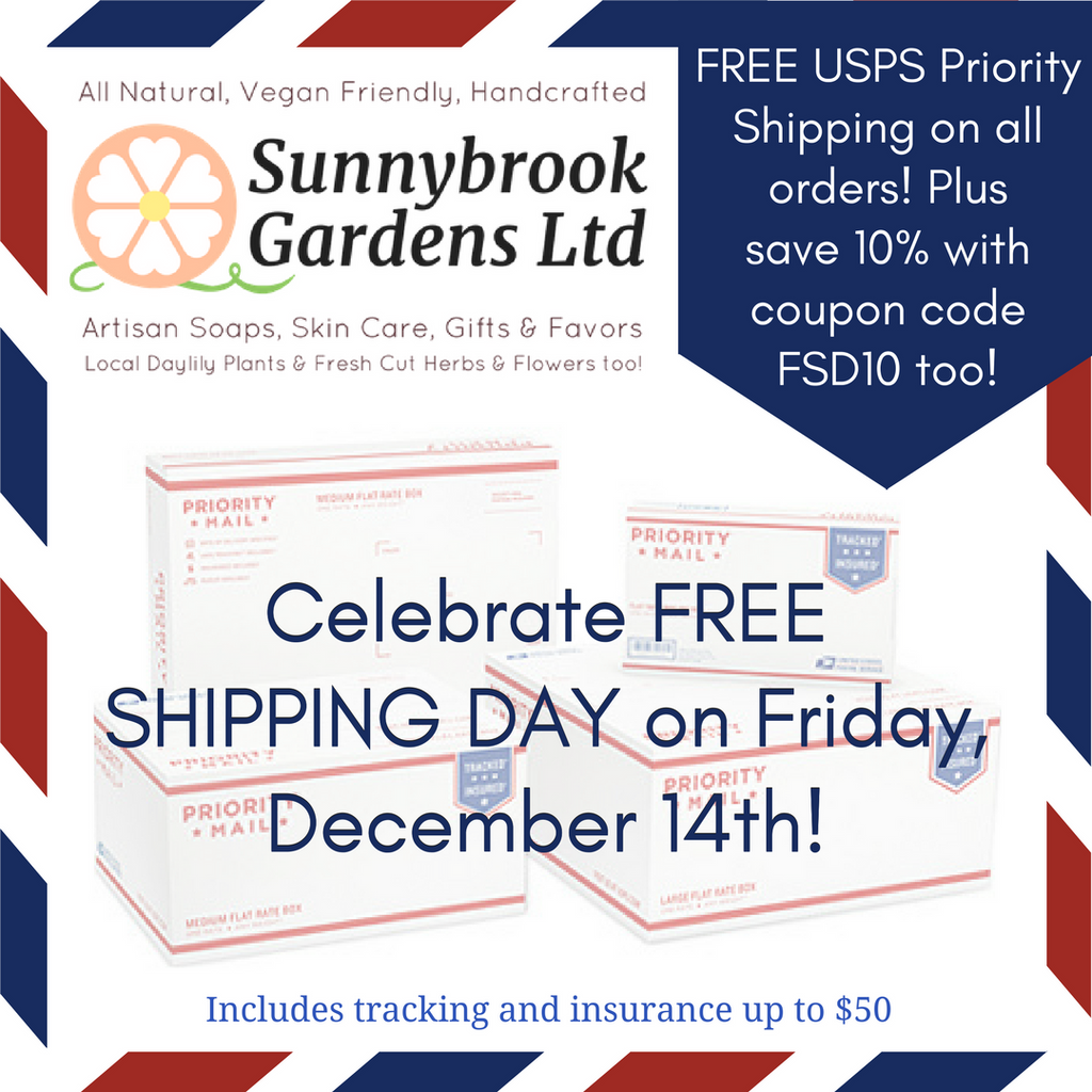 Free Shipping Day on Friday, December 15th!