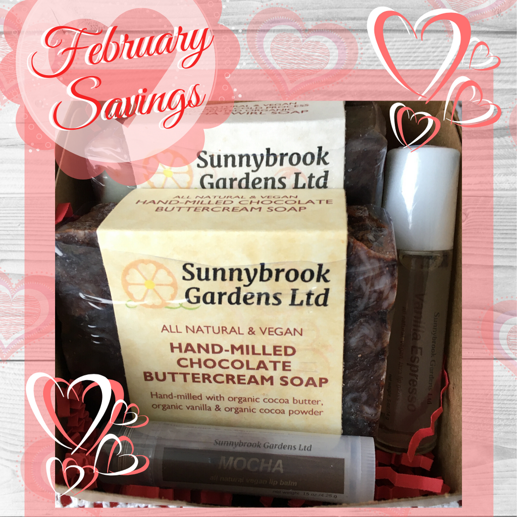 February Savings on sweet treats for your skin!
