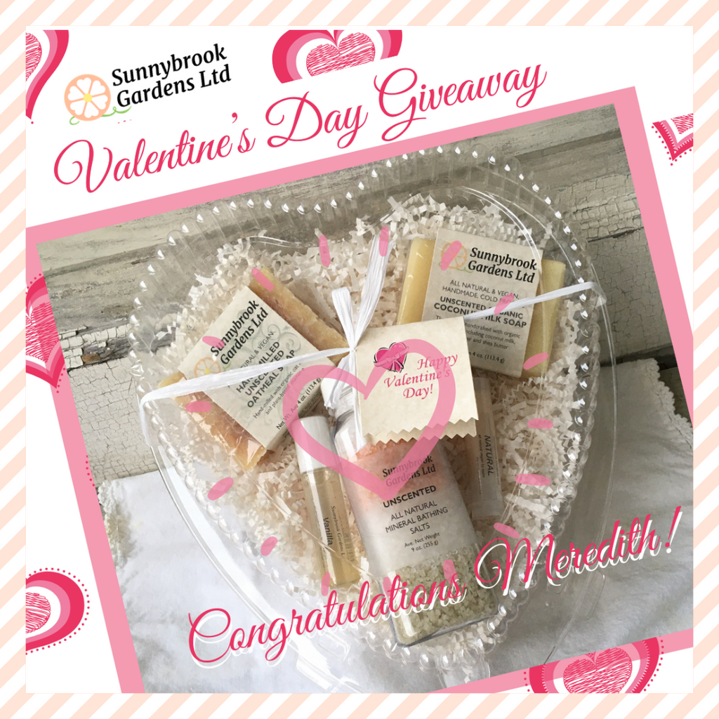 Happy Valentine's Day Giveaway