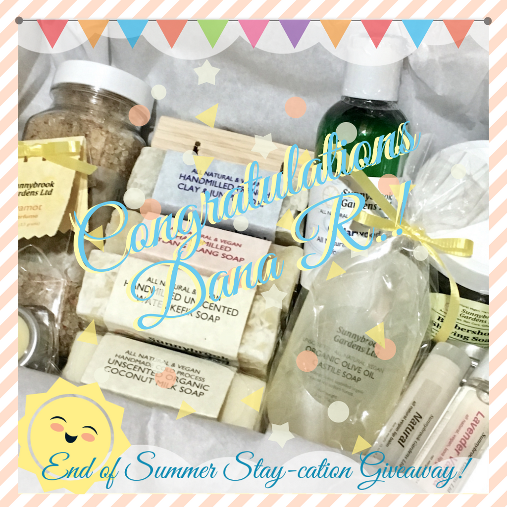 Enter to win our End of Summer Stay-cation Giveaway!
