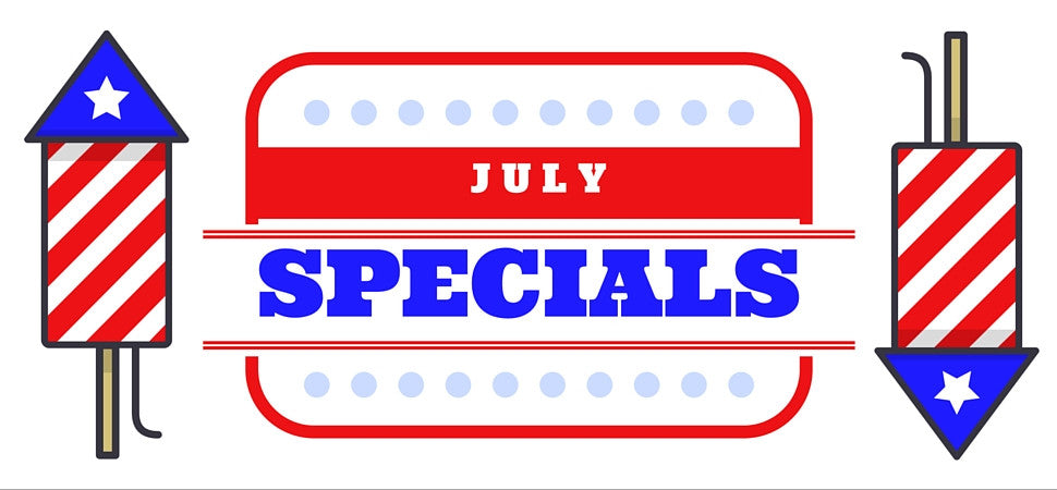 July Specials on our Favorite Gardening Products!