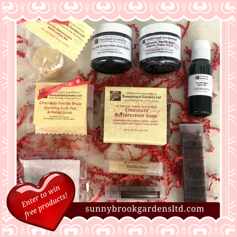 Enter to win our NEW February Monthly Promotion Box!
