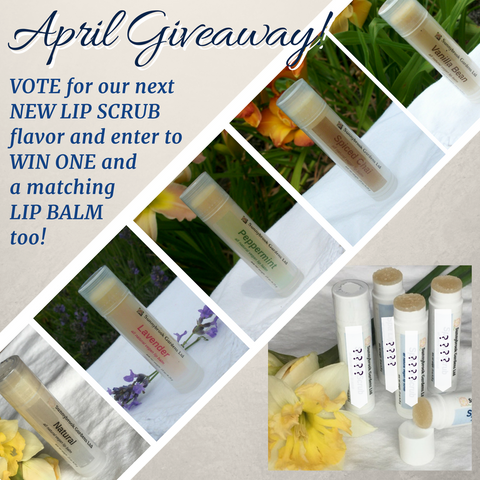 Vote for our next NEW LIP SCRUB flavor and enter to win one!
