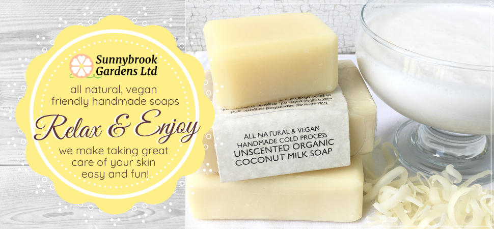 Enjoy our all natural, vegan friendly handmade soaps!