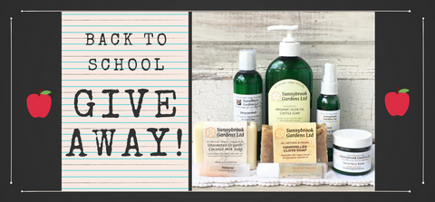 ENTER TO WIN OUR BACK TO SCHOOL GIVEAWAY!