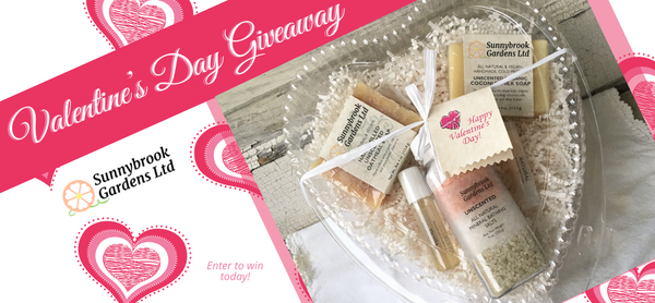 Enter to win our Valentine's Day Giveaway