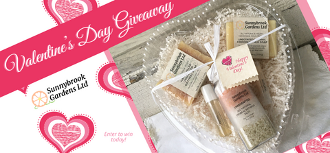 Enter to win our Valentine's Day Giveaway!