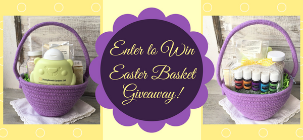 Enter to Win an Easter Basket of Unscented Soaps and Essential Oils for Children!