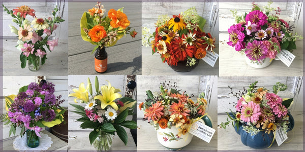 Sunnybrook Gardens Ltd fresh cut flower arrangements
