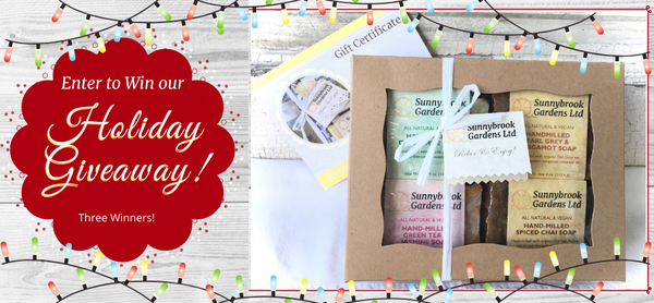 Enter to win our Holiday Giveaway!