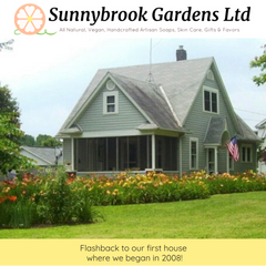 Our first home where Sunnybrook Gardens began in 2008