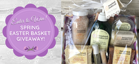 Enter to win our Spring Easter Basket Giveaway!
