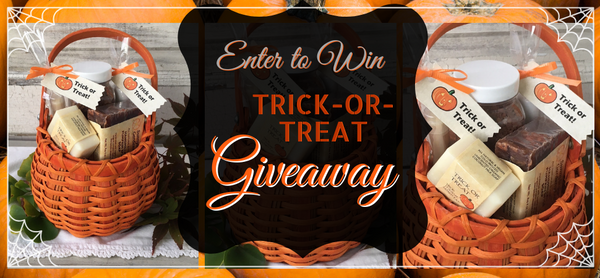 Enter to win our Halloween Trick or Treat Giveaway Basket