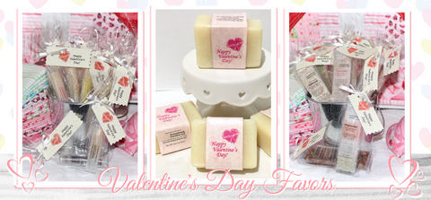 Enjoy our Valentine's Day favors