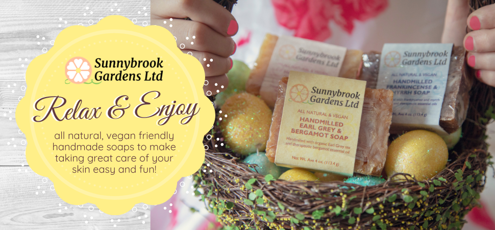 April Savings on our all natural, vegan friendly soaps and skincare!