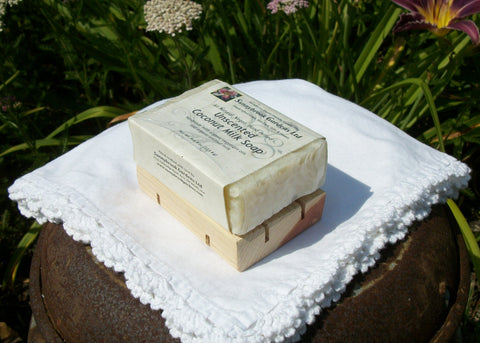Sunnybrook Gardens Ltd hand-crafted Cedarwood Soap Dish, handmade especially for our soaps!
