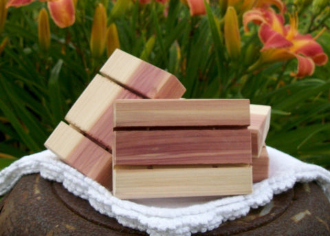 Sunnybrook Gardens Ltd Hand-crafted Cedarwood Soap Dish, all natural and created especially for our soaps!