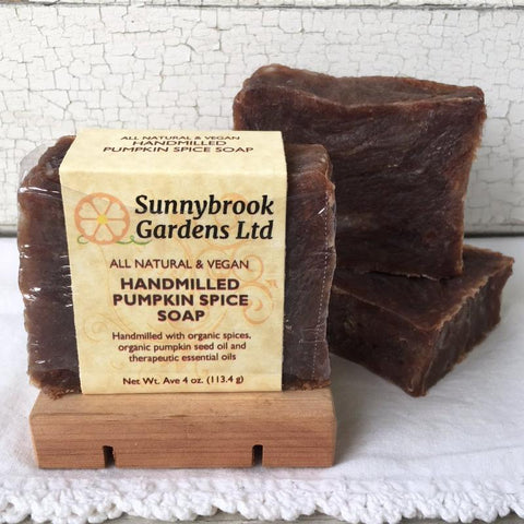 All natural, vegan Hand-milled Pumpkin Spice Soap