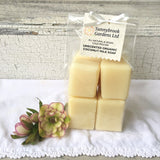 Enjoy our cold process Unscented Organic Coconut Milk Soap Gift Set