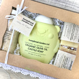 Welcome Baby Unscented Soap Gift Set