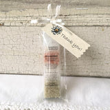 All Natural White Unscented Mineral Bathing Salt Thank You Shower and Party Favors