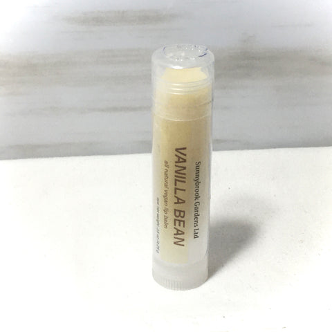 Vanilla Bean Lip Balm, all natural, vegan friendly