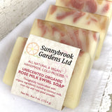 Enjoy our cold process Unscented Organic Rose Milk Soap