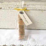 All Natural Yellow Citrus Bergamot Mineral Bathing Salt Thank You Shower and Party Favors