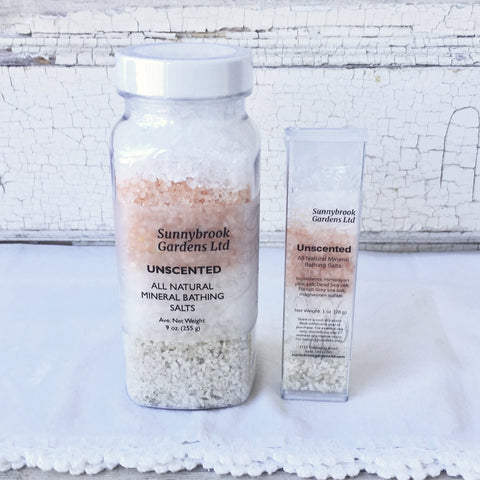 Unscented Mineral Bathing Salts