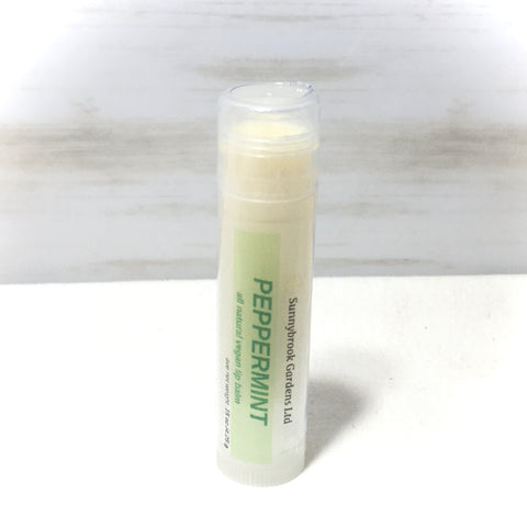 Peppermint Lip Balm, all natural, vegan friendly