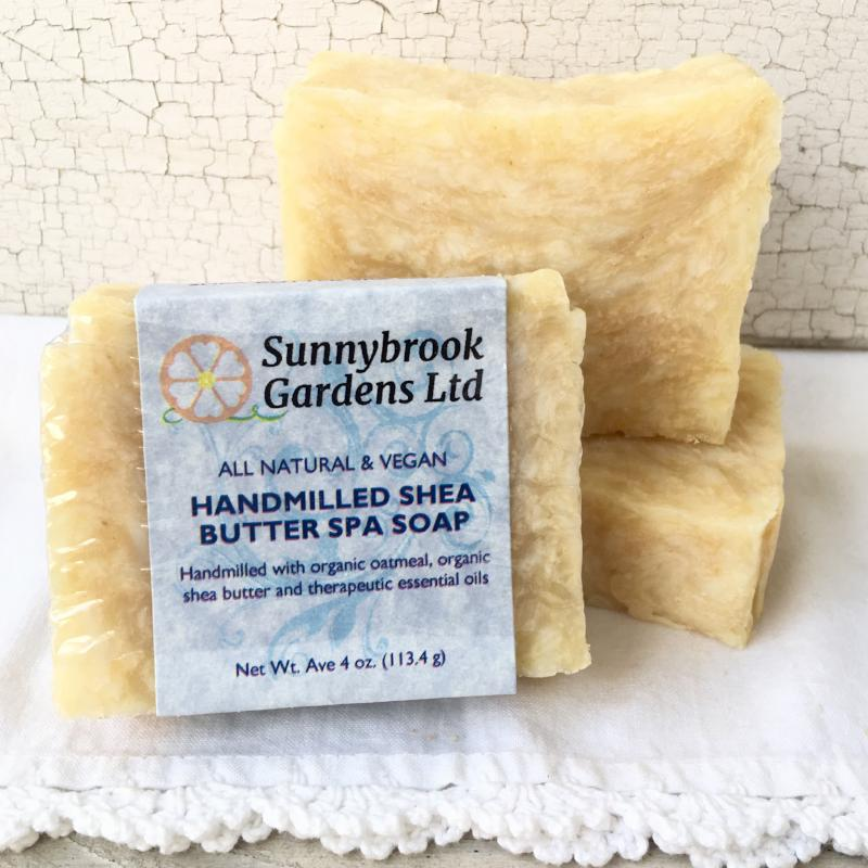Try our all natural, vegan friendly, Handmilled Shea Butter Spa Soap